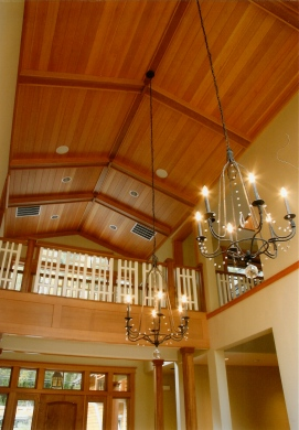 Two-Story Interior Finish