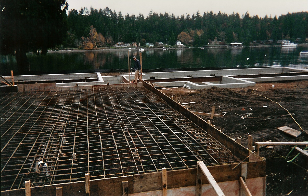 Mat slab foundation zwicker construction company inc for Slab foundation vs basement