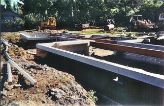 Steel Girder Foundation