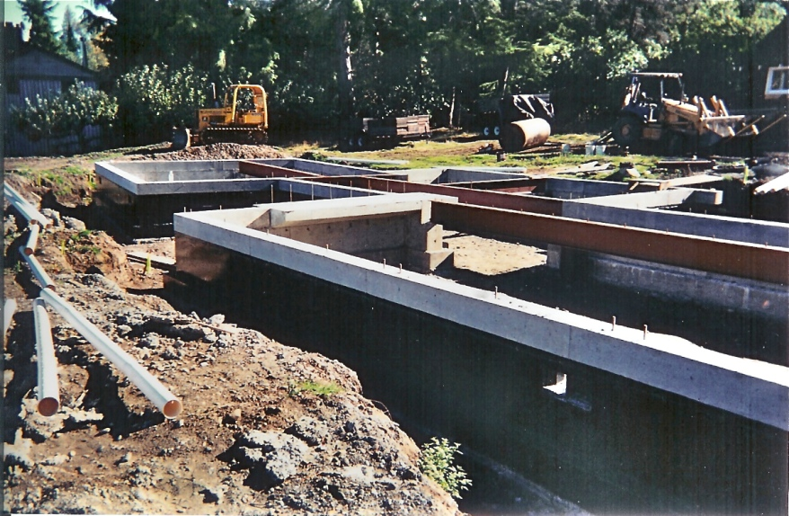 Steel Girder Foundation