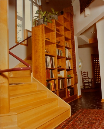 Stairs and Built-Ins